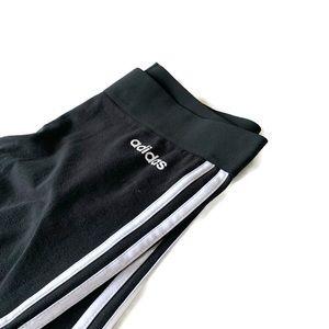 ADIDAS Three Stripe Legging in Black (S or XS)